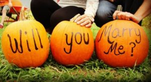 National Proposal Day pumpkins: Will you marry me?