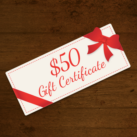 Holiday Gift Certificate Product Image