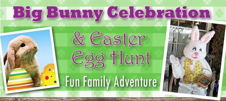 Big Bunny Celebration & Easter Egg Hunt