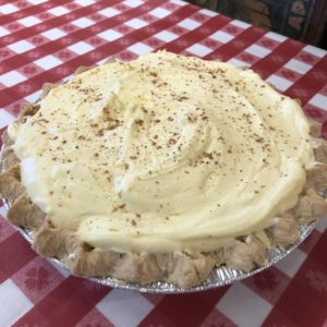 Apple Holler's Egg Nog Pie