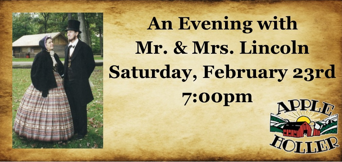 An Evening with Mr & Mrs Lincoln