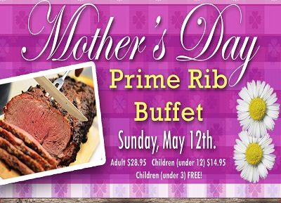 Apple Holler's Mother's Day Prime RIb Buffet