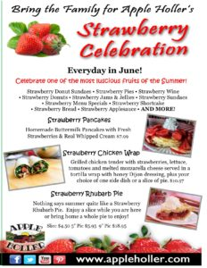 Apple Holler's Strawberry Celebration