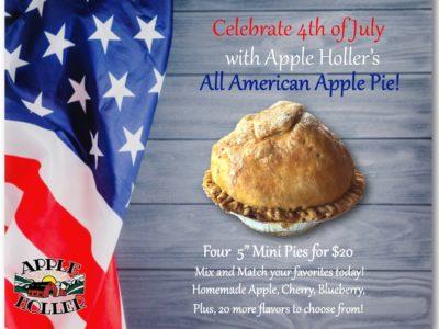 Apple Holler's All American Apple Pie