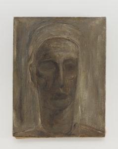"Ellsworth Kelly, ""Lazarus,"" 1949, oil on linen, 20 1/8 x 15 5/8 inches (51.1 x 39.7 cm). ©Ellsworth Kelly Foundation. Photo courtesy Ellsworth Kelly Studio"