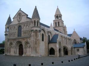 Nortre-Dame la Grande, Poitiers (exterior)