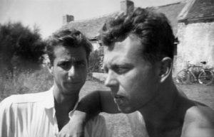 Ellsworth Kelly and Ralph Coburn, Belle-Île, France, 1949