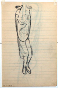 Ellsworth Kelly, Drawings from Romanesque Sculpture, 1948