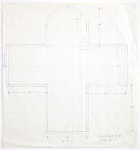 Ellsworth Kelly, Floor Plan of Chapel, 1987