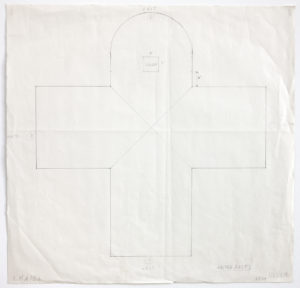 Ellsworth Kelly, Study for Chapel's West Wall, 1987