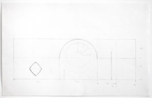 Ellsworth Kelly, Preliminary Study for North Wall of Chapel, 1987
