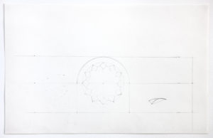 Ellsworth Kelly, Preliminary Study for South Wall of Chapel, 1987