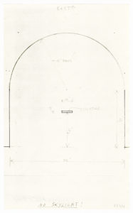 Ellsworth Kelly, View from Above, Placement of Bronze Altar, East Apse, 1987