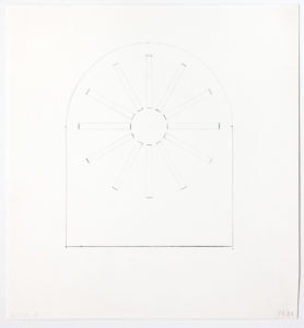 Ellsworth Kelly, Study for Stained Glass Window, North Wall, Chapel, 1987