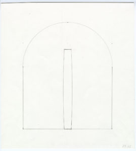 Ellsworth Kelly, Study for Bronze Totem for the Altar, Chapel, 1987