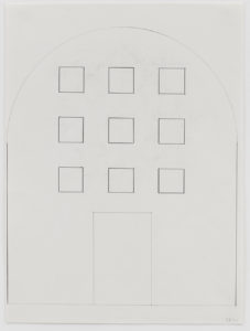 Ellsworth Kelly, Study for Stained-Glass Window, West Wall, Chapel, 1987