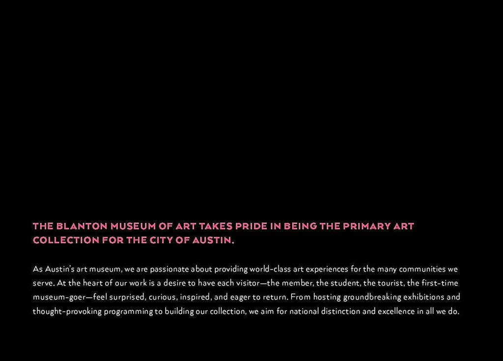 Blanton Museum of Art statement.