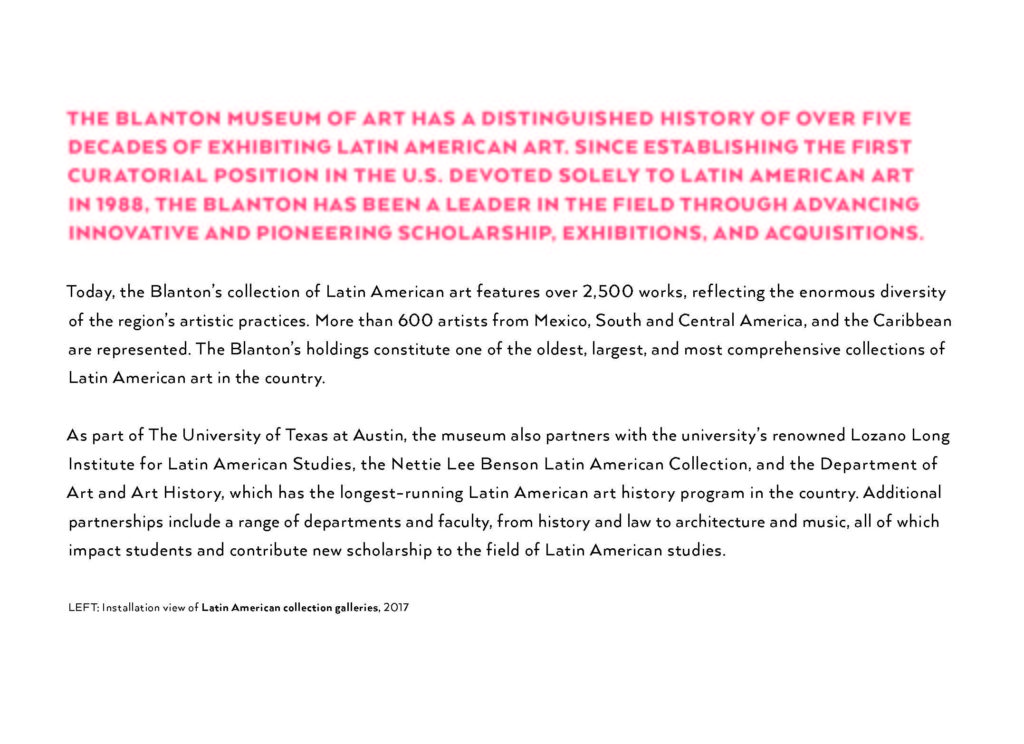 2019 Blanton Gala Page 5 Latin American Art