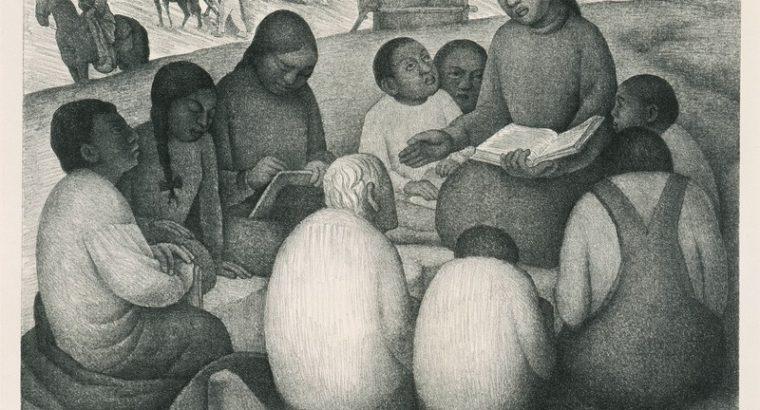La maestra rural [The Rural Teacher] , 1932 by Diego Rivera