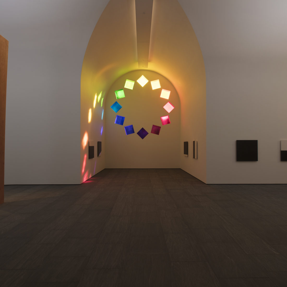 Inside view of Ellsworth Kelly's Austin
