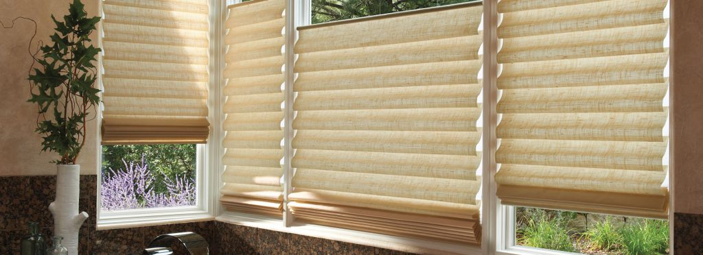 Vignette® Modern Roman Shades at The Blinds Man in Lexington