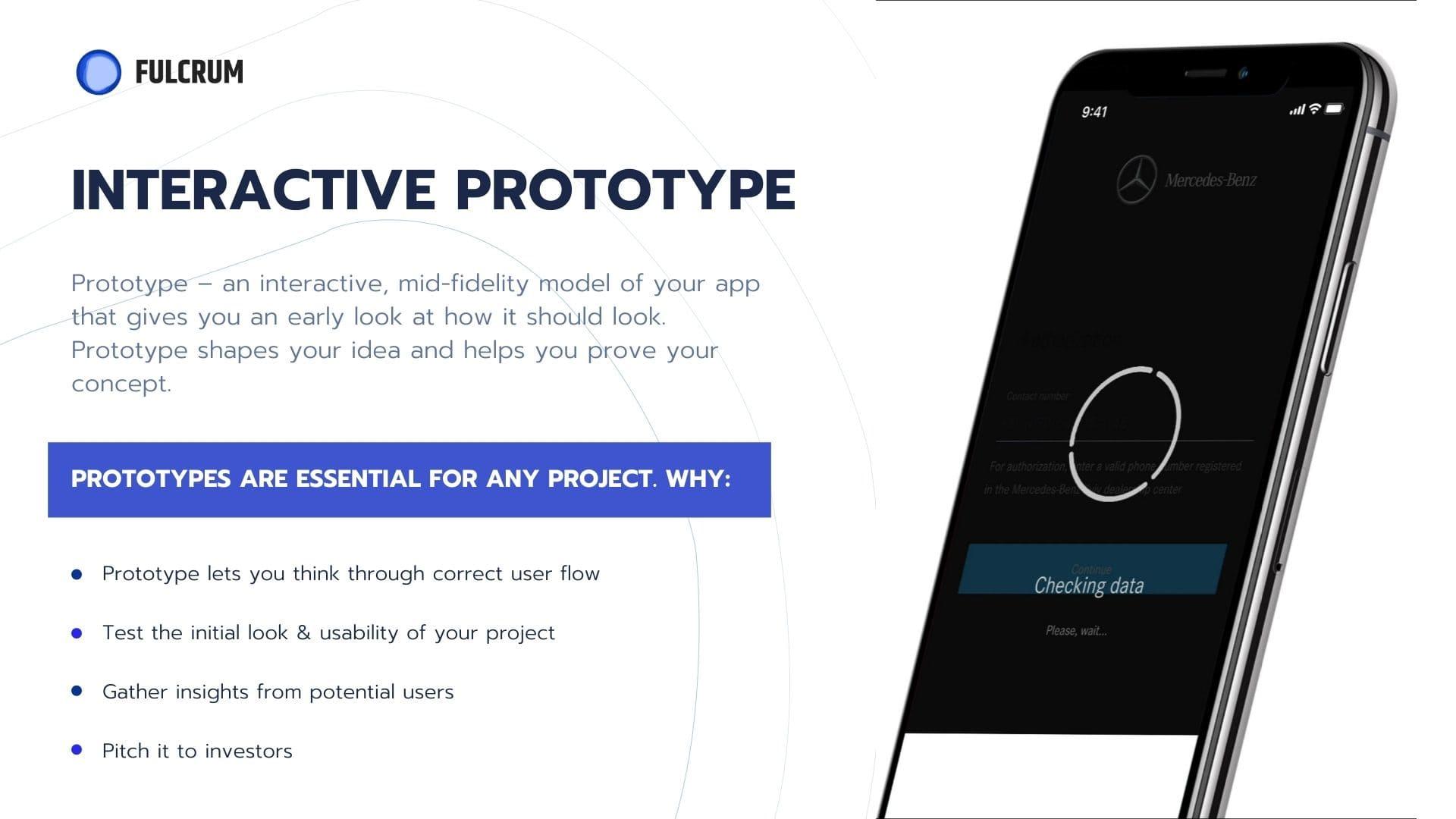 create an app prototype