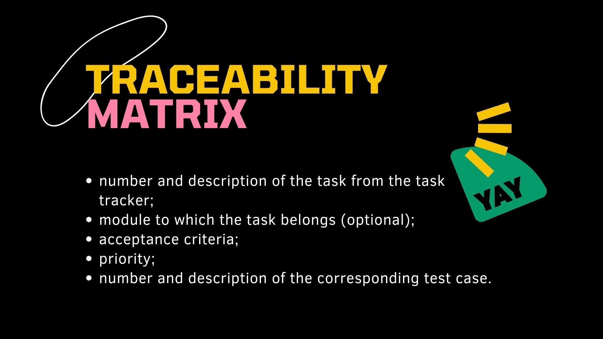 Traceability Matrix