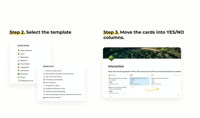 What is DIY UX audit checklist and how to use it?