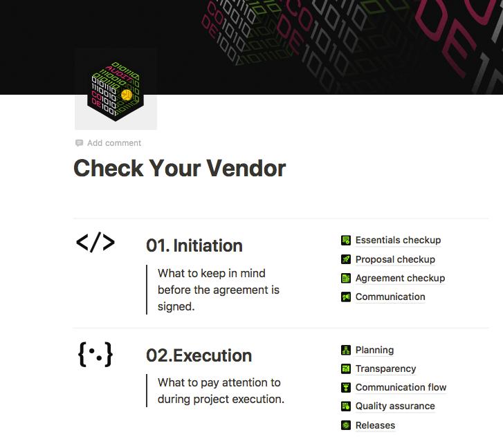 download our free vendor audit checklist!
