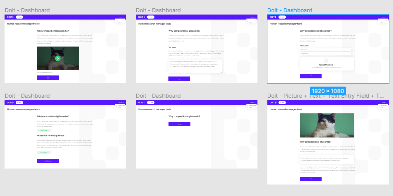 Course Page of a Standard Edtech Project.
