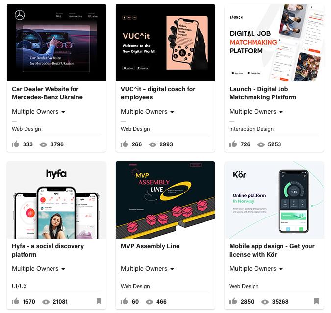 Fulcrum Rocks on Behance UX designers portfolio.