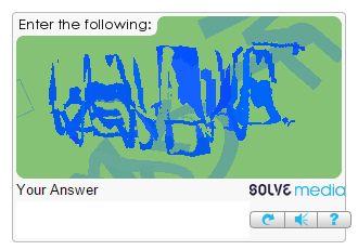 SolveMedia captcha is one of the hardest.