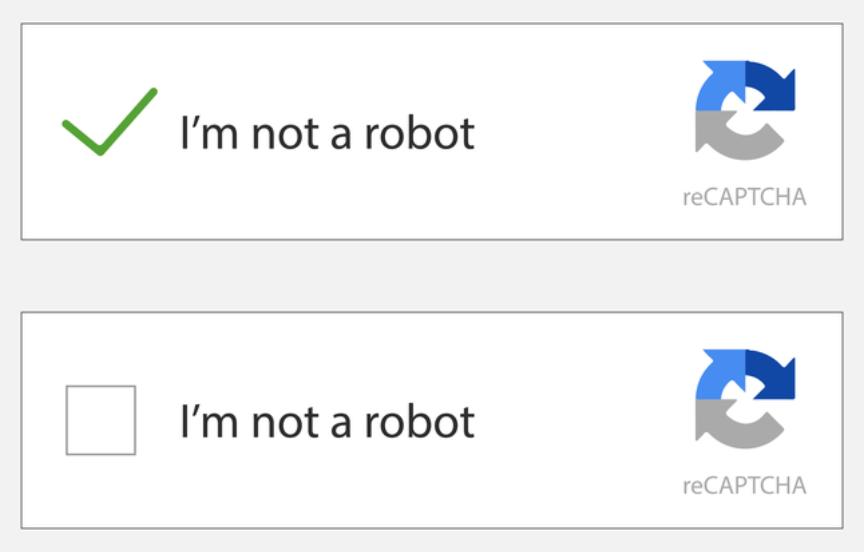 Simple google recaptcha.