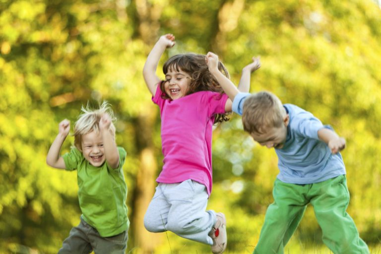 A importância das atividades físicas na infância