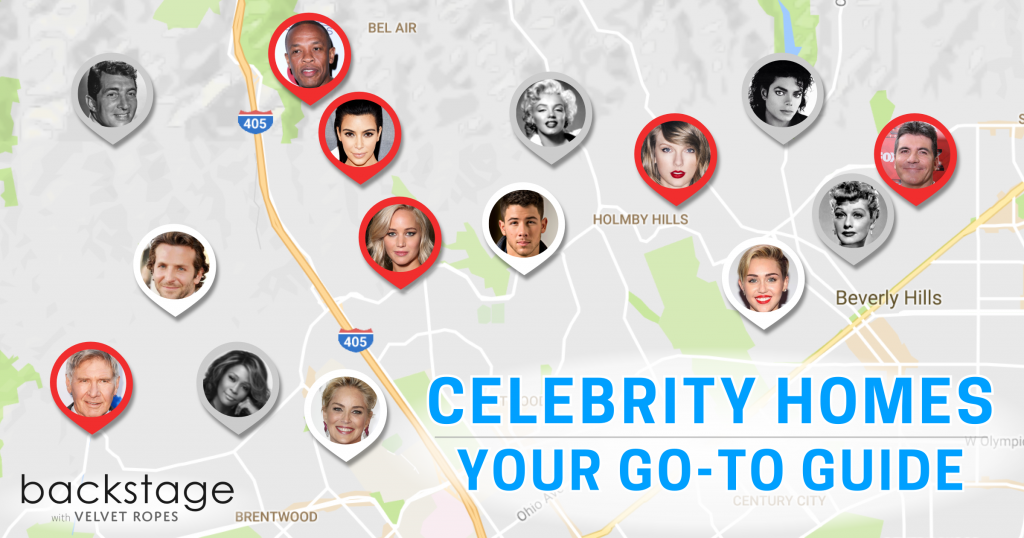 Celebrity Homes Los Angeles Map Celebrity Homes Map: This Is Everything You Need to Know