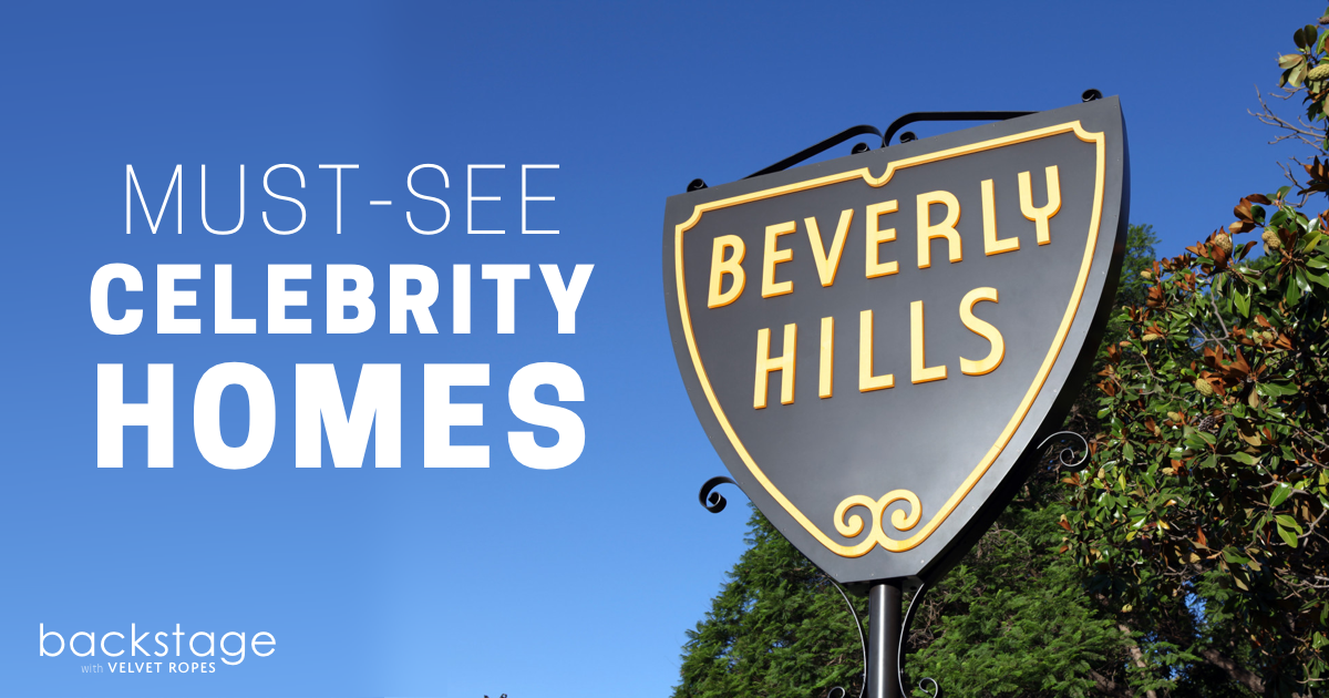 where to see celebrity homes in Beverly Hills