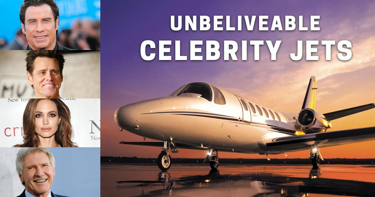 celebrity jets, celebrity private jets