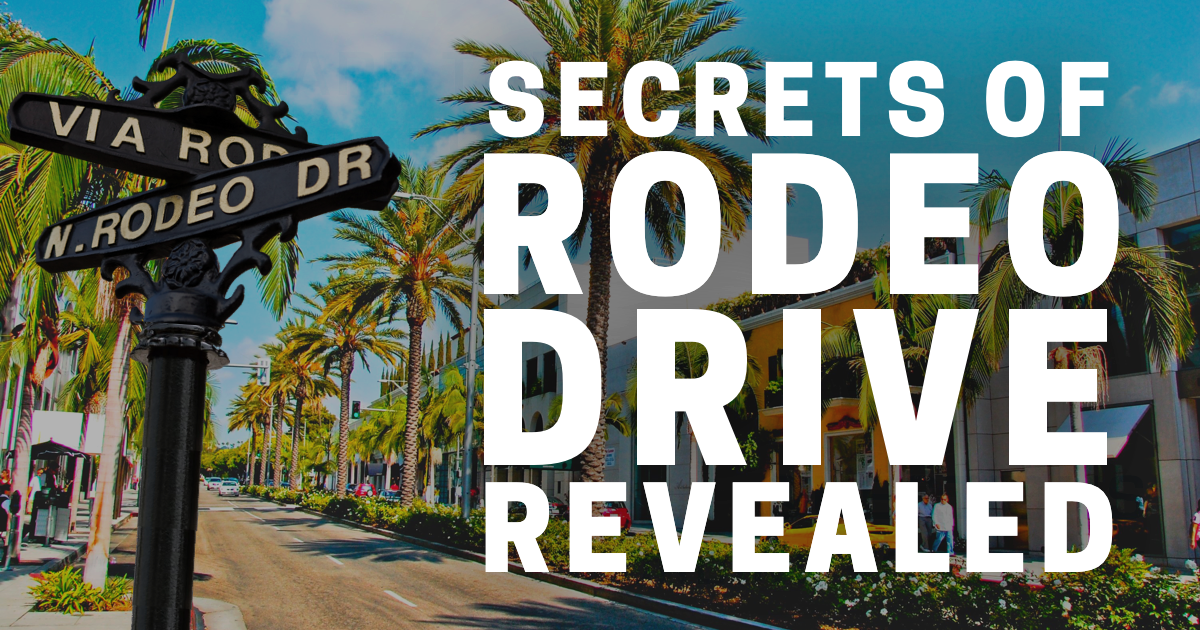 Rodeo Drive in Beverly Hills: Your Must-See Guide