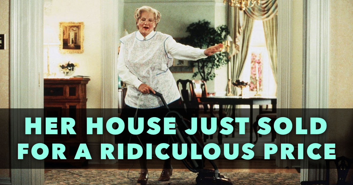 Mrs Doubtfire House Featured