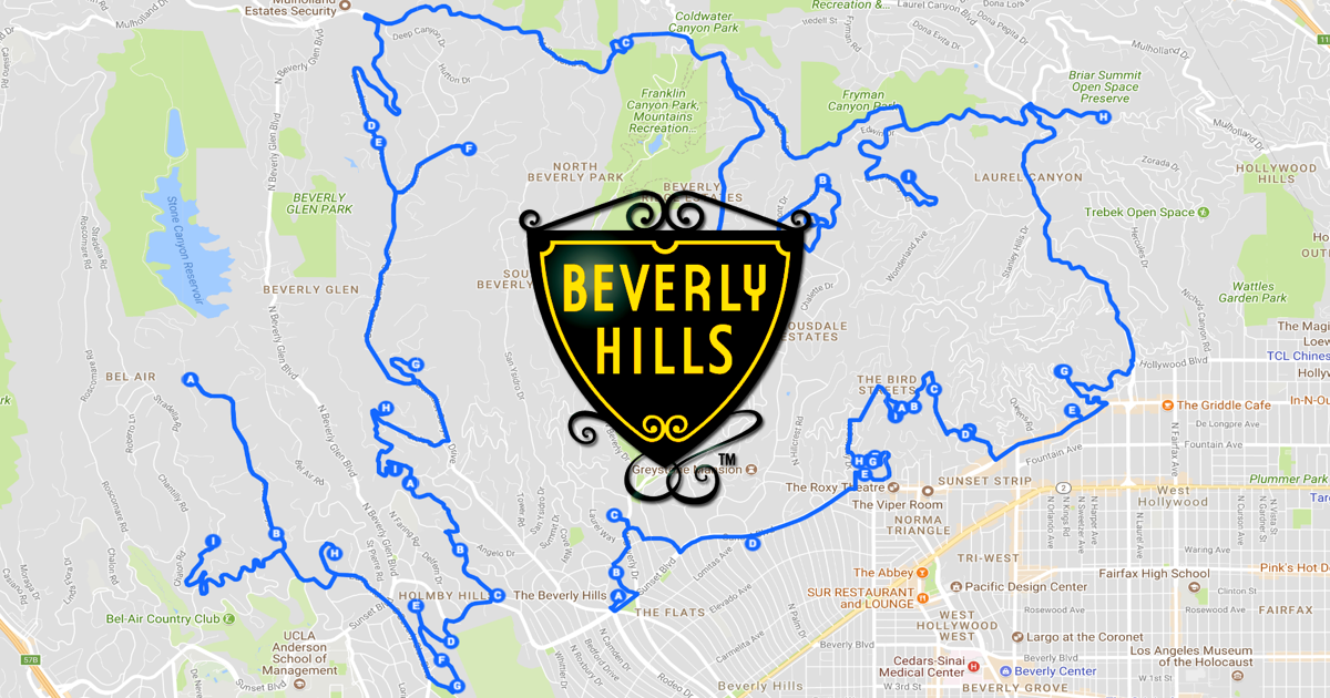 Beverly Hills Celebrity Homes Self Tour: Our Hand-Picked ... on celebrity house on a map printable, neighborhoods map, celebrity new york city map,