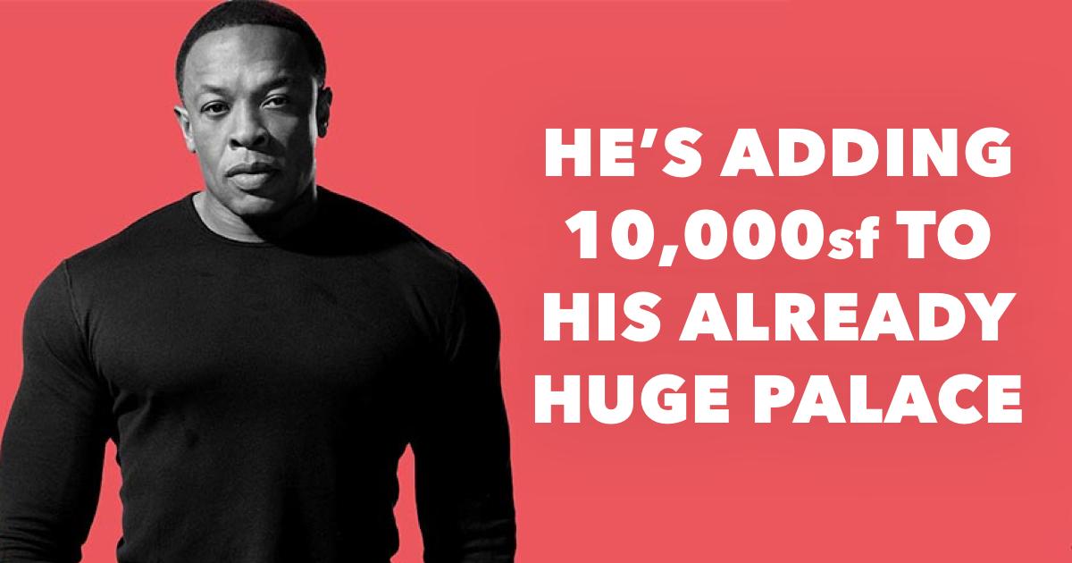 Dr Dre House: It's Freaking Huge!