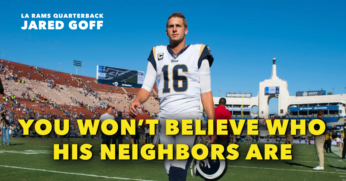 Jared Goff House Featured