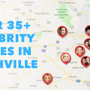 map of country stars homes in nashville Celebrity Homes In Nashville Here S The Map You Need map of country stars homes in nashville