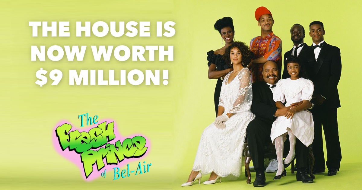 Fresh Prince of Bel Air House Featured