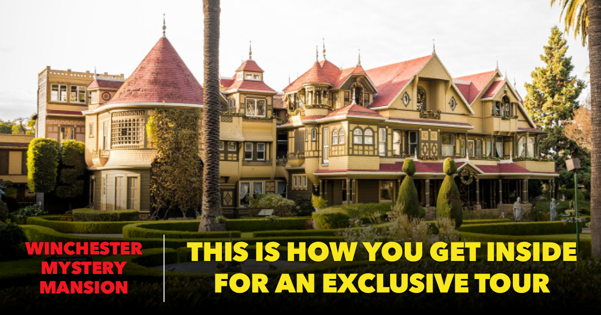 Winchester Mystery House Featured