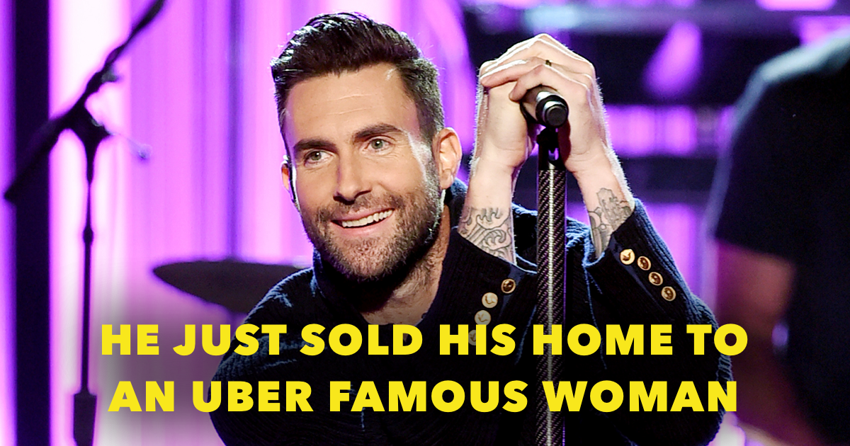 Where does Adam Levine live?