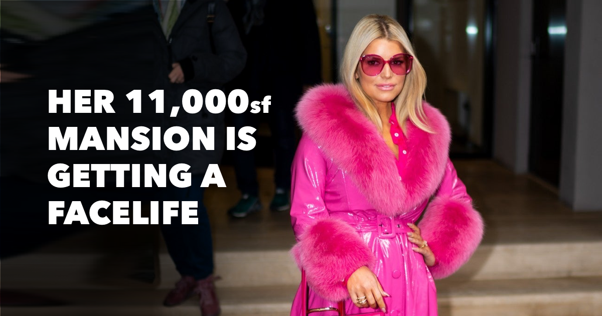 Where does Jessica Simpson live?