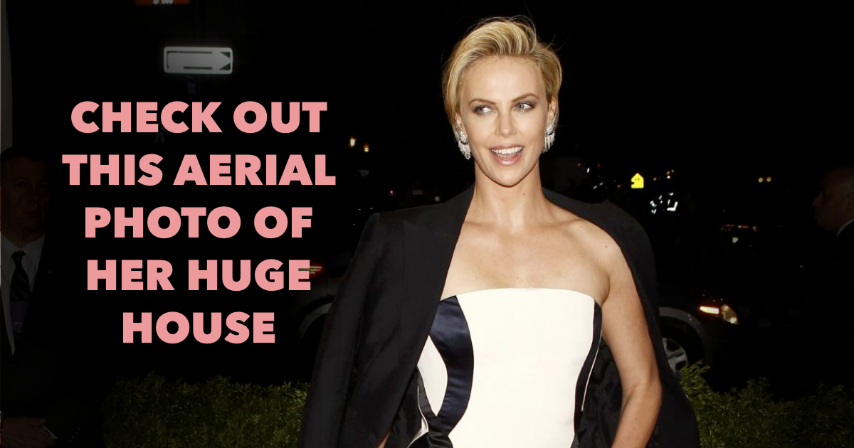 Where does Charlize Theron live?