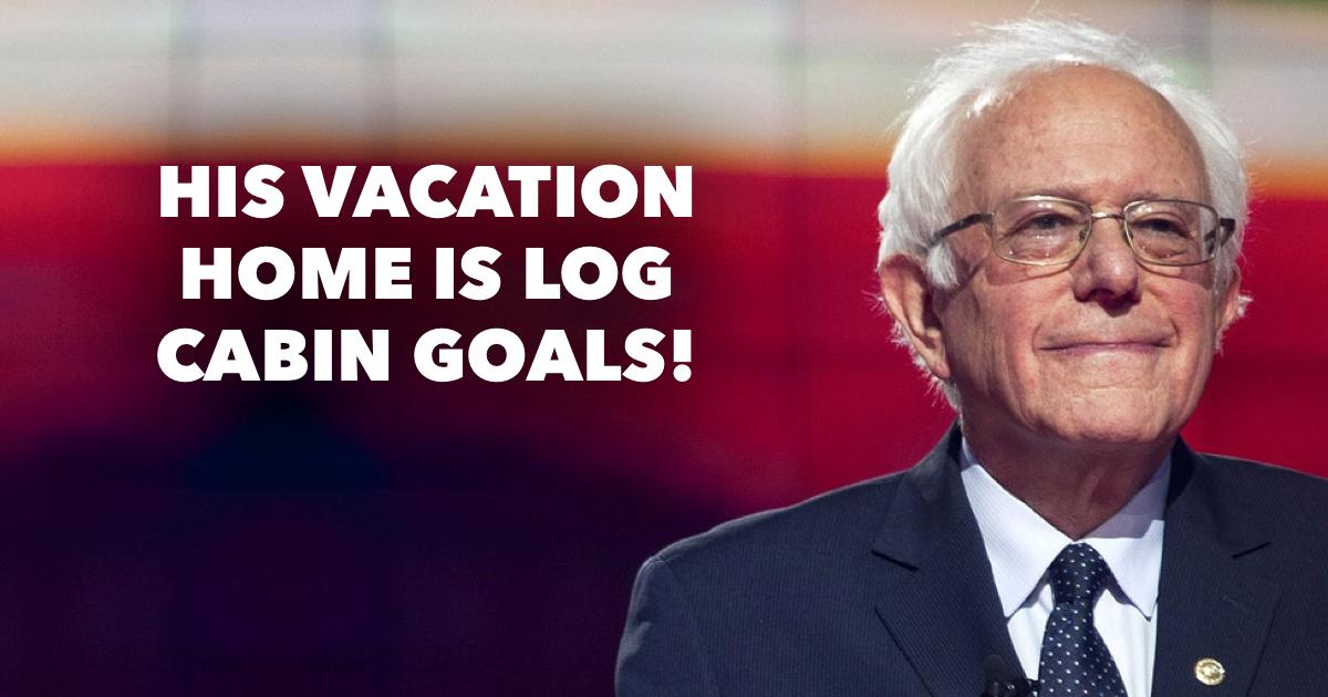 Where does Bernie Sanders live?