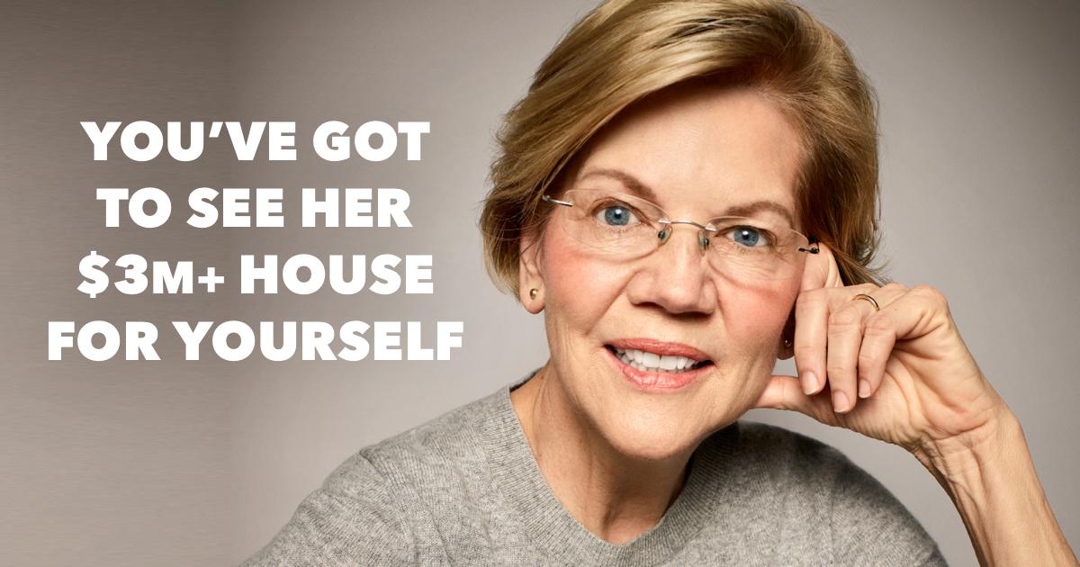 Where does Elizabeth Warren live?